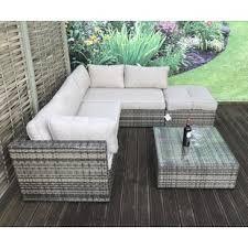 artus 5 seater rattan sofa set