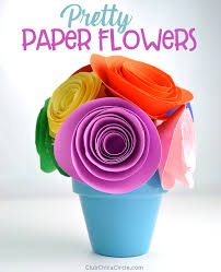 Easy Paper Flower Pretty And Super Easy Paper Flower Tutorial