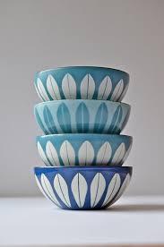 small matte sky blue white light blue cathrineholm lotus vine enamel metal bowl made in norway scandinavian modern kitchen on etsy