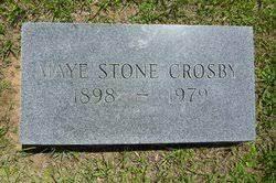 Maye Iva Stone Crosby (1898-1979) - Find A Grave Memorial
