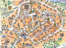 maps and memories petescully Maps Aix En Provence after a story told to me by a guy called corentin who said that all the nains de jardin of aix came to life and partied here at night map aix en provence france
