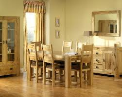 solid oak dining room table to accompany your family dinner stunning oak dining room table