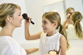 it s diffe in every household but many little s start and love to experiment with makeup when they are very young perhaps even three or four