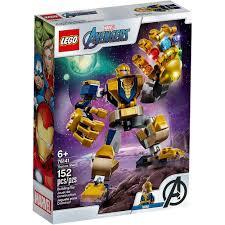 Купить <b>конструктор LEGO Super</b> Heroes Танос: трансформер ...