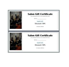 free gift certificate template present birthday