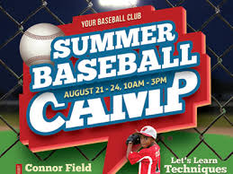 Summer Camp Flyer Template Cool Baseball Camp Flyer Templates By Kinzi Wij Dribbble