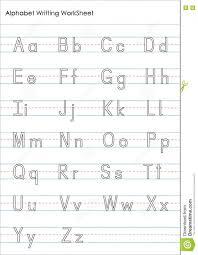 Alphabet Writingsheets For Kindergarten Exercises Practice Pdf ...