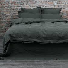 black linen duvet cover linen bedding duvet cover set black olive black linen duvet cover nz