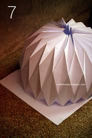 ... make lampshade out of paper this origami is so cool and wonderful  effect. You can use this in your own personal room, in the classroom or in  any ...