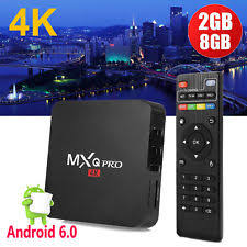 infinity 4k pro box. mxq pro smart tv box android 6.0 marshmallow quad core wifi 4k streaming 2gb/8gb infinity 4k box