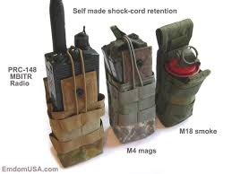 M4 Magazine Holder Emdom PM100 Polymer M100 Double Magazine Pouch Emdom Gear 2