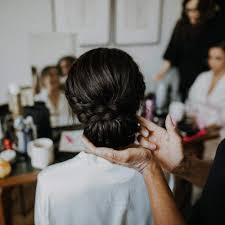 wedding makeup hair 11 03 low soft textured wedding bun london pam wrigley