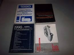 1990 ford festiva electrical wiring diagrams evtm shop vacuum 1990 ford festiva service repair manual set oem evtm wiring diagrams