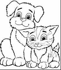 Small Picture Impressive kitten chasing butterflies coloring pages with kitten