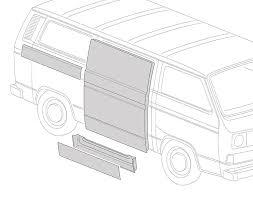 t25 panels cargo doors