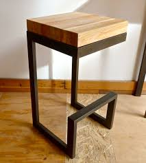 wrought iron and wood furniture. Reclaimed Wood \u0026 Steel Barstool Wrought Iron And Furniture
