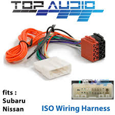 details about subaru forester impreza iso wiring harness stereo adaptor wire loom connector