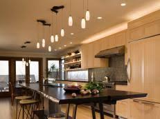 dining room lighting ideas. openedup kitchen shares space with dining room lighting ideas