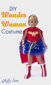 Wonder Woman Costume Pattern New Wonder Woman Costume Pattern For Kids A Modern Thread Pinterest
