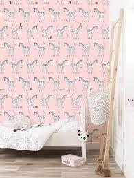 Behang Zebra Roze Fiep Westendorp Fiep Westendorp Webshop