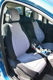 mix velour middle and synthetic sides two front custom car seat covers