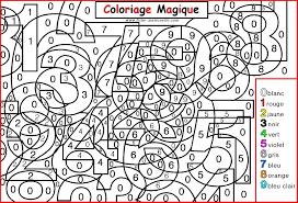 Coloriage Magique Pour Les Grande Sectionll