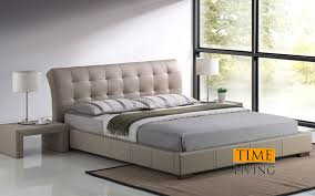 leather beds dorset deluxe faux leather bed frame next day select
