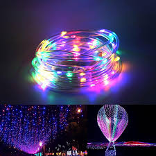 Arilux Battery Powered 5m 10m Copper Wire Led Rope Fairy