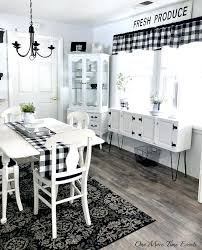 Black And White Kitchen Rugs Finding The Right Rug For A Modern Farmhouse Kitchen  Kitchen Area . Black And White Kitchen Rugs ...