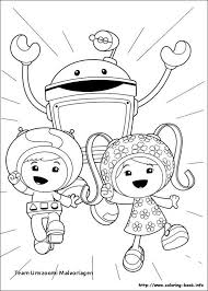 Free Team Umizoomi Christmas Coloring Pages Littledelhisfus
