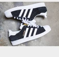 adidas shoes superstar black and white. new adidas superstar vulc adv black white suede footwear shoes and