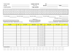 Golf League Schedule Template Practice Schedule Template Excel