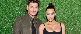 photo mario dedivanovic l and kim kardashian west attend kkwxmario dinner at jean