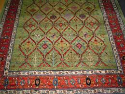design gallery 9 paradise oriental rugs inc intended for green rug plan 15 10 brown runner