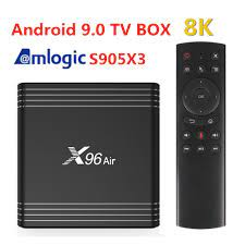 New X96 Air Android 9.0 TV BOX Amlogic S905X3 4GB 64GB 32GB wifi 8K Netflix  X96Air 2G16G X96air Set Top Box|Set-top Boxes