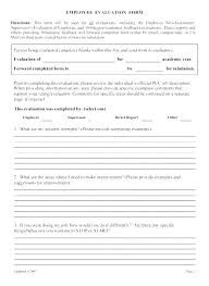 Restaurant Employee Performance Evaluation Form Free Employee Performance Review Templates Sample Day