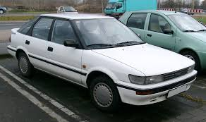Toyota Corolla – Wikipedia | Automobiles and things with wheels ...