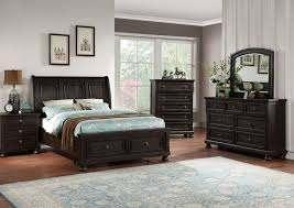 sophia king size bedroom set dark