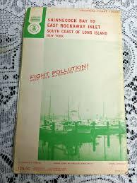 Shinnecock Bay Chart Vintage 1970 Nautical Chart 120 Sc Shinnecock Bay To Eat