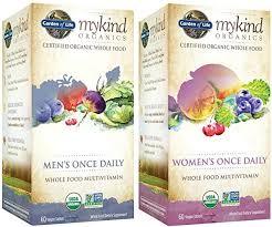 garden of life multivitamin for men and women