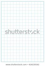 2 Inch Grid Printable Graph Paper Blue Stock Vector Royalty Free