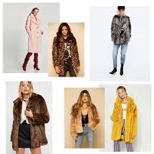 6 must have faux fur coats