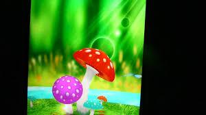 Mushroom Garden 3d Live Wallpaper