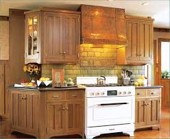 White Or Wood Kitchen Cabinets Traditional Oak Designs And