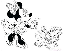 Coloring Page Minnie Mouse Mini Mouse Coloring Page Mouse Clubhouse