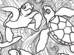 Small Picture Baby Sea Turtles Coloring Pages Coloring Home