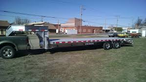 Crossman Trailer   Gooseneck Aluminum Flatbed   truck stuff ...