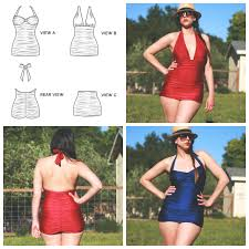 One Piece Swimsuit Pattern Awesome Decorating