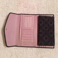 Coach Bags - Coach Madison Op Art large checkbook wallet