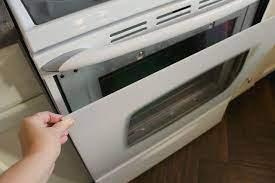 maytag oven clean oven glass door